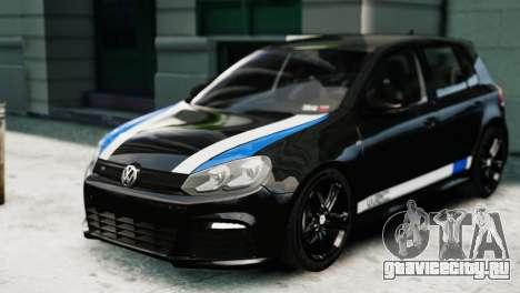 Volkswagen Golf R 2010 Polo WRC Style PJ1 для GTA 4