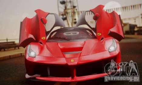 Ferrari LaFerrari F70 2014 для GTA San Andreas вид сбоку