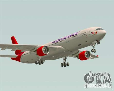 Airbus A330-300 Virgin Atlantic Airways для GTA San Andreas вид сбоку