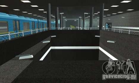 Новое метро в Сан-Фиерро для GTA San Andreas восьмой скриншот
