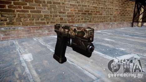 Пистолет Glock 20 zombies для GTA 4
