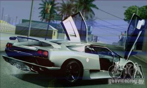 Lamborghini Diablo SV 1997 для GTA San Andreas вид справа