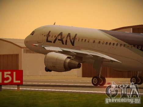 Airbus A320-214 LAN Airlines 100th Plane для GTA San Andreas