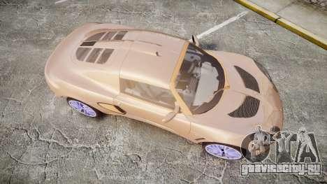 Lotus Exige для GTA 4 вид справа