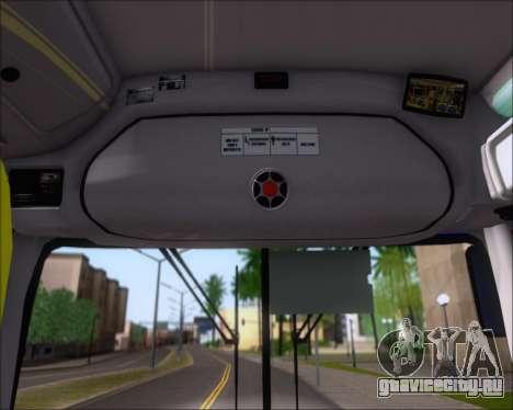 Marcopolo Torino 2007 Volksbus 17-230 EOD для GTA San Andreas вид снизу