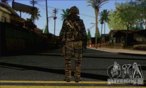 Task Force 141 (CoD: MW 2) Skin 8 для GTA San Andreas второй скриншот