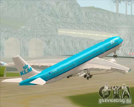 Airbus A330-300 KLM Royal Dutch Airlines для GTA San Andreas