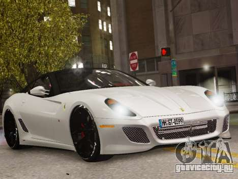 Ferrari 599 GTO для GTA 4