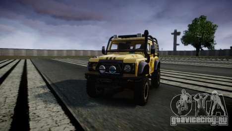 Land Rover Defender для GTA 4