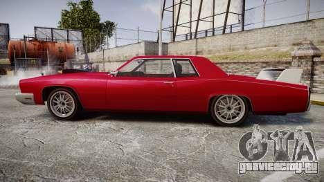 Albany Buccaneer Modified для GTA 4 вид слева
