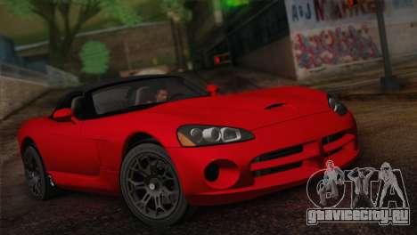 Dodge Viper SRT-10 2003 для GTA San Andreas
