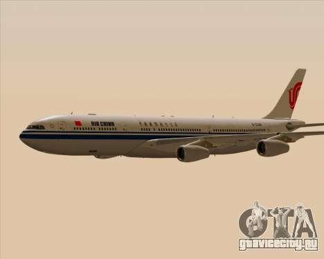 Airbus A340-313 Air China для GTA San Andreas вид сверху