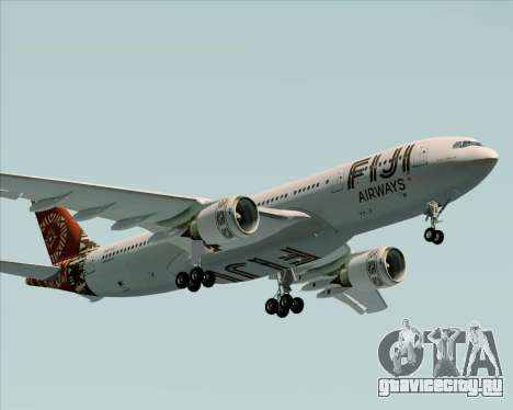 Airbus A330-200 Fiji Airways для GTA San Andreas вид изнутри