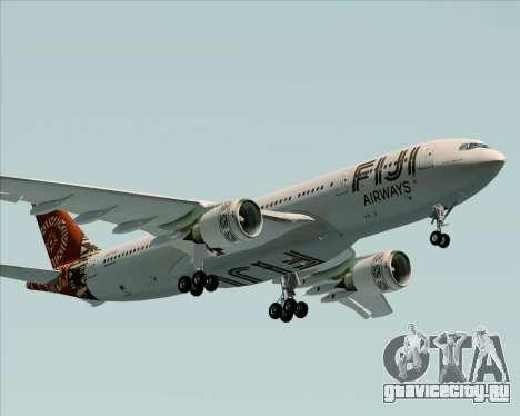 Airbus A330-200 Fiji Airways для GTA San Andreas вид изнутри