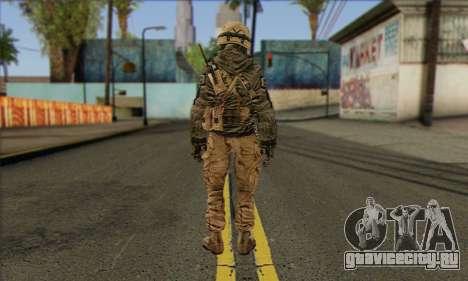 Task Force 141 (CoD: MW 2) Skin 17 для GTA San Andreas второй скриншот