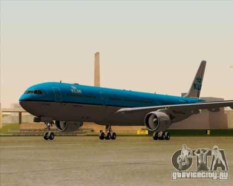 Airbus A330-300 KLM Royal Dutch Airlines для GTA San Andreas вид справа