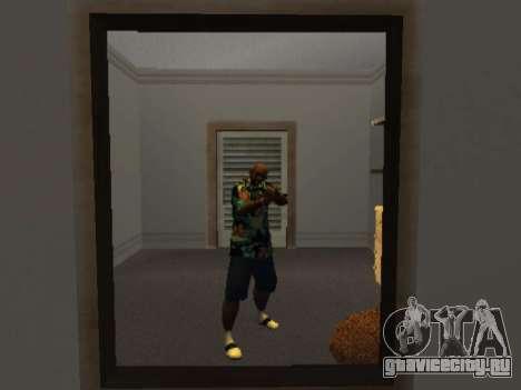 Гавайская рубашка как у Макса Пейна для GTA San Andreas второй скриншот