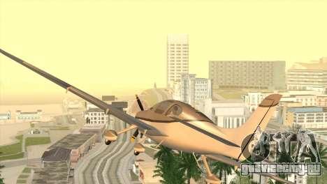 Cirrus SR-22 для GTA San Andreas вид сзади слева