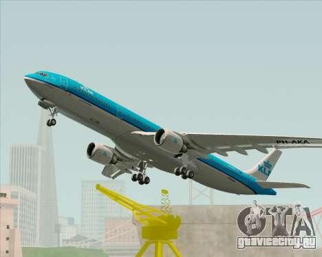 Airbus A330-300 KLM Royal Dutch Airlines для GTA San Andreas вид сбоку