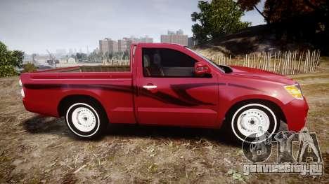 Toyota Hilux 2014 для GTA 4 вид слева