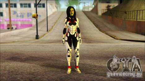 Guardians of the Galaxy Gamora v2 для GTA San Andreas