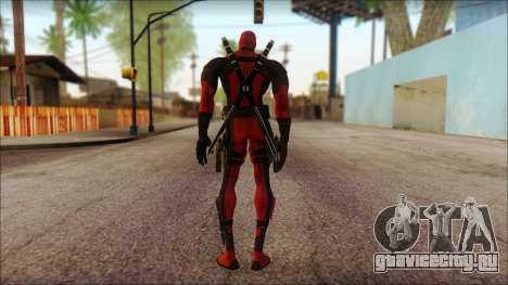 Classic Deadpool The Game Cable для GTA San Andreas второй скриншот