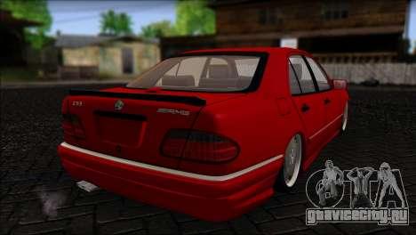Mercedes-Benz W210 E55 для GTA San Andreas вид слева