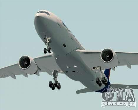 Airbus A330-200 Syphax Airlines для GTA San Andreas вид изнутри