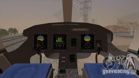 Bell 429 v2 для GTA San Andreas вид сзади слева