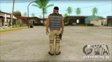 Arabian Resurrection Skin from COD 5 для GTA San Andreas второй скриншот