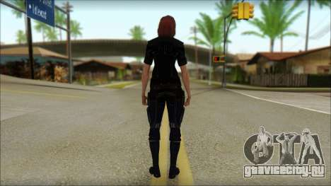 Mass Effect Anna Skin v7 для GTA San Andreas второй скриншот
