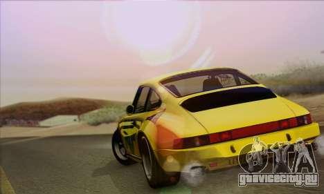 RUF CTR Yellowbird 1987 для GTA San Andreas вид сзади слева