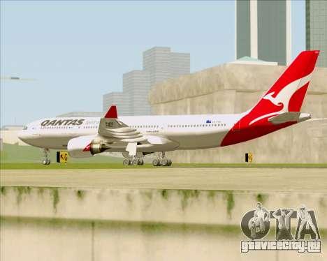 Airbus A330-200 Qantas для GTA San Andreas вид справа