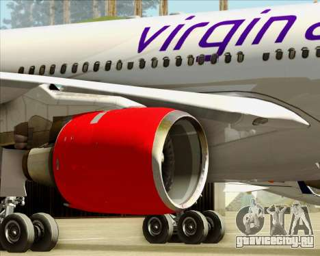 Airbus A330-300 Virgin Atlantic Airways для GTA San Andreas колёса