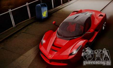 Ferrari LaFerrari F70 2014 для GTA San Andreas