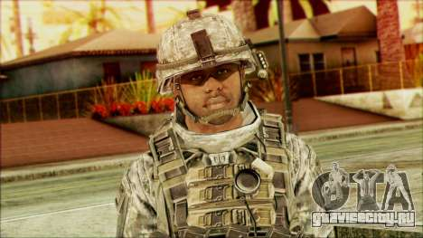 Рейнджер (CoD: MW2) v5 для GTA San Andreas третий скриншот