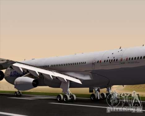 Airbus A340-311 House Colors для GTA San Andreas двигатель