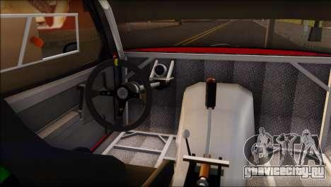 ВАЗ 2108 Спорт для GTA San Andreas вид сзади слева