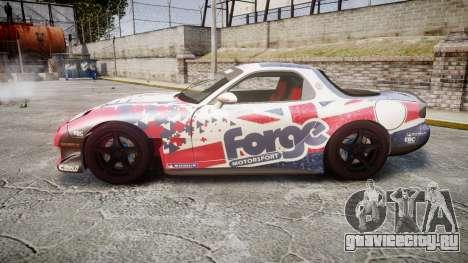 Mazda RX-7 Forge Motorsport для GTA 4 вид слева