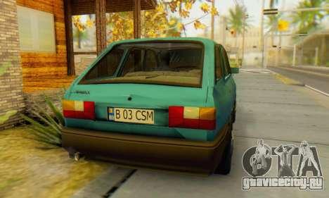 Dacia 1310 Liberta v1.1 для GTA San Andreas вид сзади слева