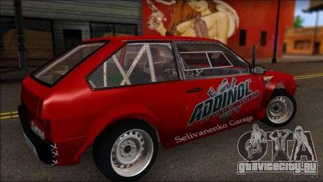 ВАЗ 2108 Спорт для GTA San Andreas вид слева