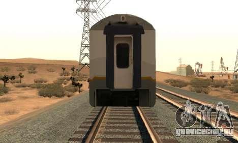K1 Argo Traincar индонезийский для GTA San Andreas вид справа