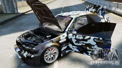 BMW M3 E46 Emre AKIN Edition для GTA 4 вид справа