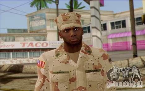 California National Guard Skin 2 для GTA San Andreas третий скриншот