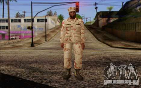 California National Guard	 Skin 2 для GTA San Andreas