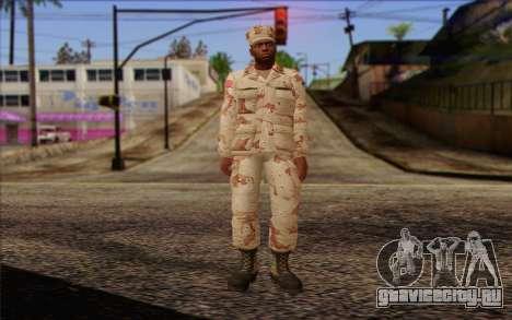 California National Guard Skin 2 для GTA San Andreas