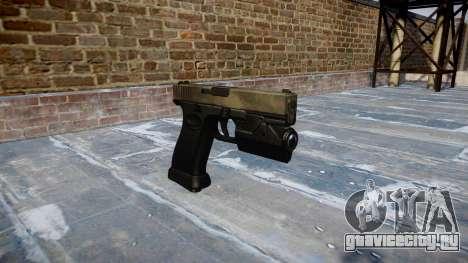 Пистолет Glock 20 a tac au для GTA 4