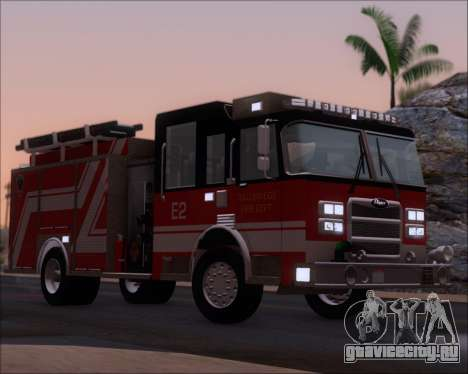 Pierce Arrow XT TFD Engine 2 для GTA San Andreas вид снизу