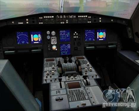 Airbus A330-300 Air Canada для GTA San Andreas салон