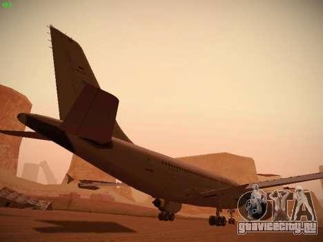 Airbus A310 MRTT Luftwaffe (German Air Force) для GTA San Andreas салон